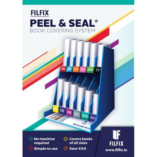 Σύστημα ντυσίματος βιβλίων. PEEL & SEAL