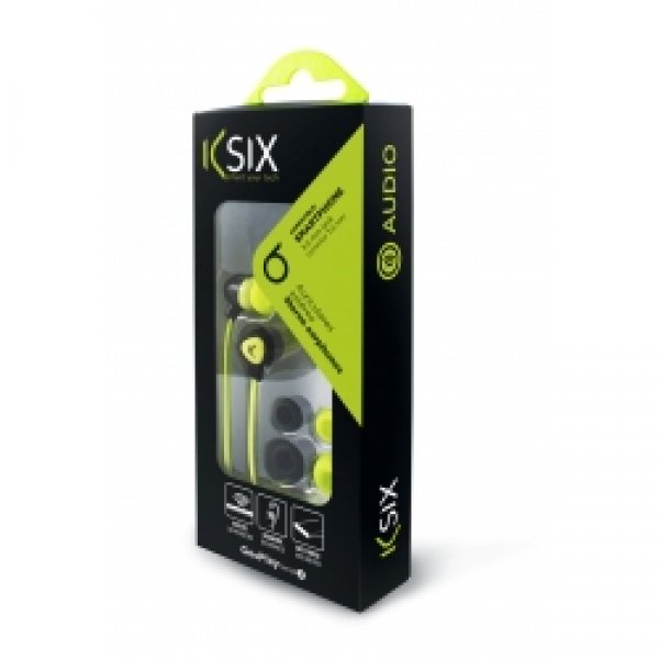 Ksix HANDSFREE NEW STEREO UNIVERSAL green