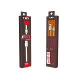 Καλώδιο δεδομένων, ΕΜΥ MY-445, Micro USB, 1.0m, Λευκό - 14449 - Expected products