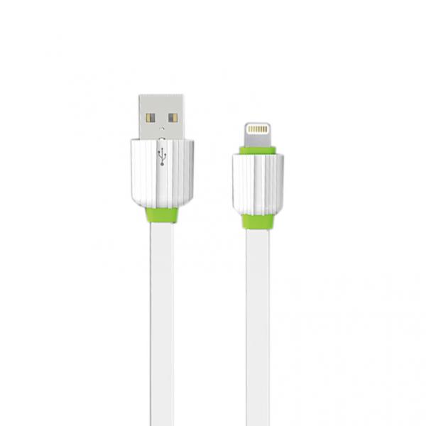Καλώδιο δεδομένων, ΕΜΥ MY-443, iPhone 5/6/7 1.0m, Λευκό - 14450 - Expected products