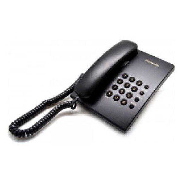 Σταθερό Ψηφιακό Τηλέφωνο Panasonic KX-TS500FXB Μαύρο